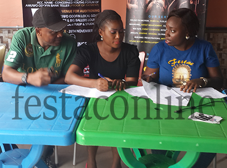 Panel Of Judges At Face Of Amuwo Odofin 2015 Audition
