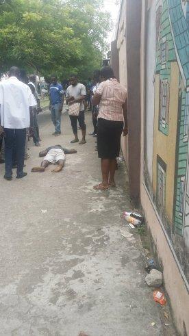 2 Dead , 1 Injured At Forte Oil Station 21 Road. (1)