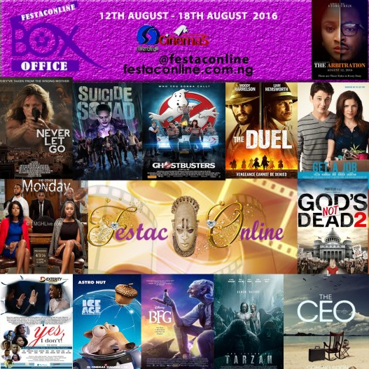 Festaconline-Box-Office-Silverbird-Cinemas-Listing-12TH-August-18th-august-2016
