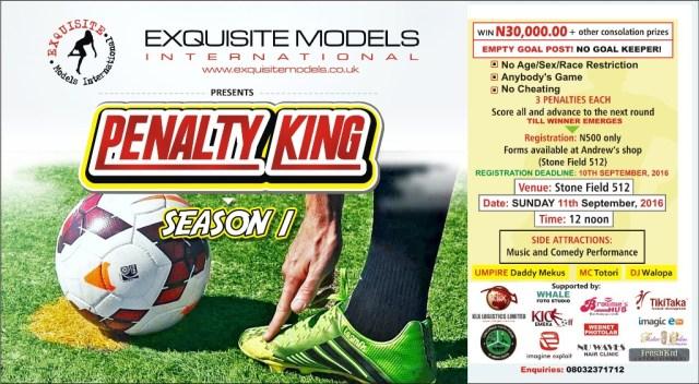 Penalty King - Season 1print