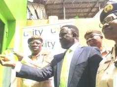 Unity Bank donates lounge to Nigerian Immigration Service FESTAC