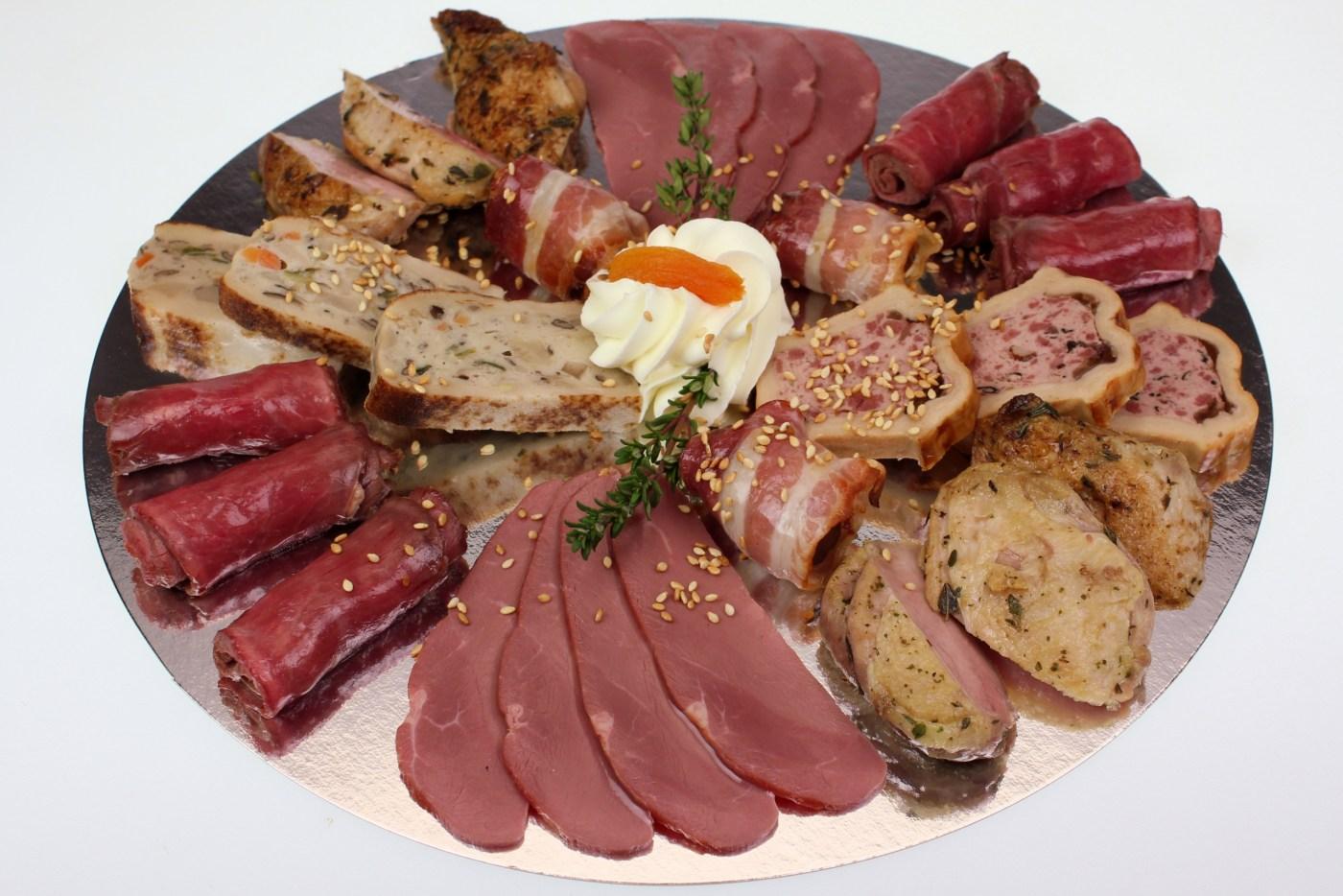 Vorspeisenteller Fleisch