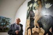 Életműdíj - Orosz János Munkácsy-díjas festő-és szobrászművész, érdemes és kiváló művész