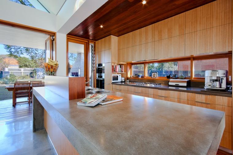 drewno beton