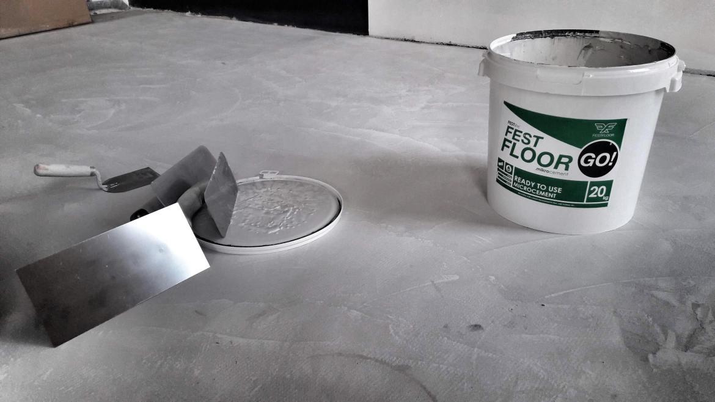 jednoskładnikowy mikrocement Festfloor Go cena