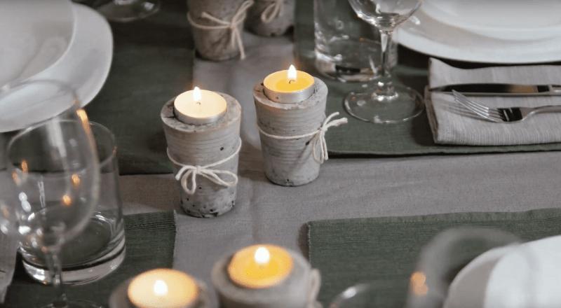 betonowy świecznik (ArchiFest)