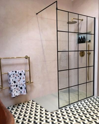 Betonowa łazienka Industrialna Mikrocement Właściwości