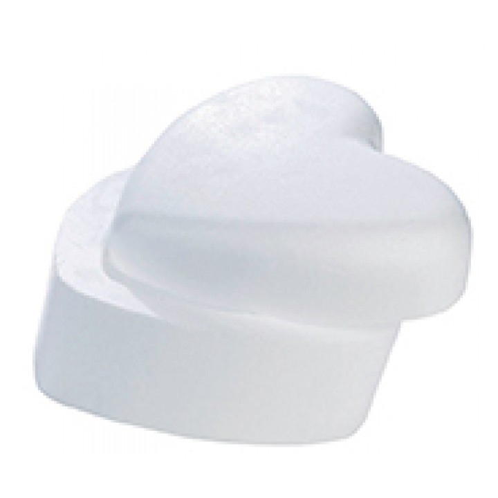 boite cœur polystyrene 14 cm