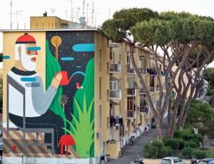 Street Art tour: i muri di San Basilio e il progetto SanBa