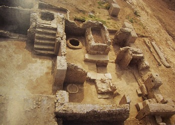 area archeologica settecamini
