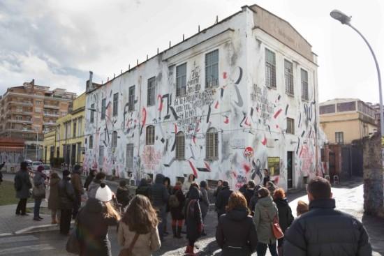 La STREET ART nel quartiere OSTIENSE