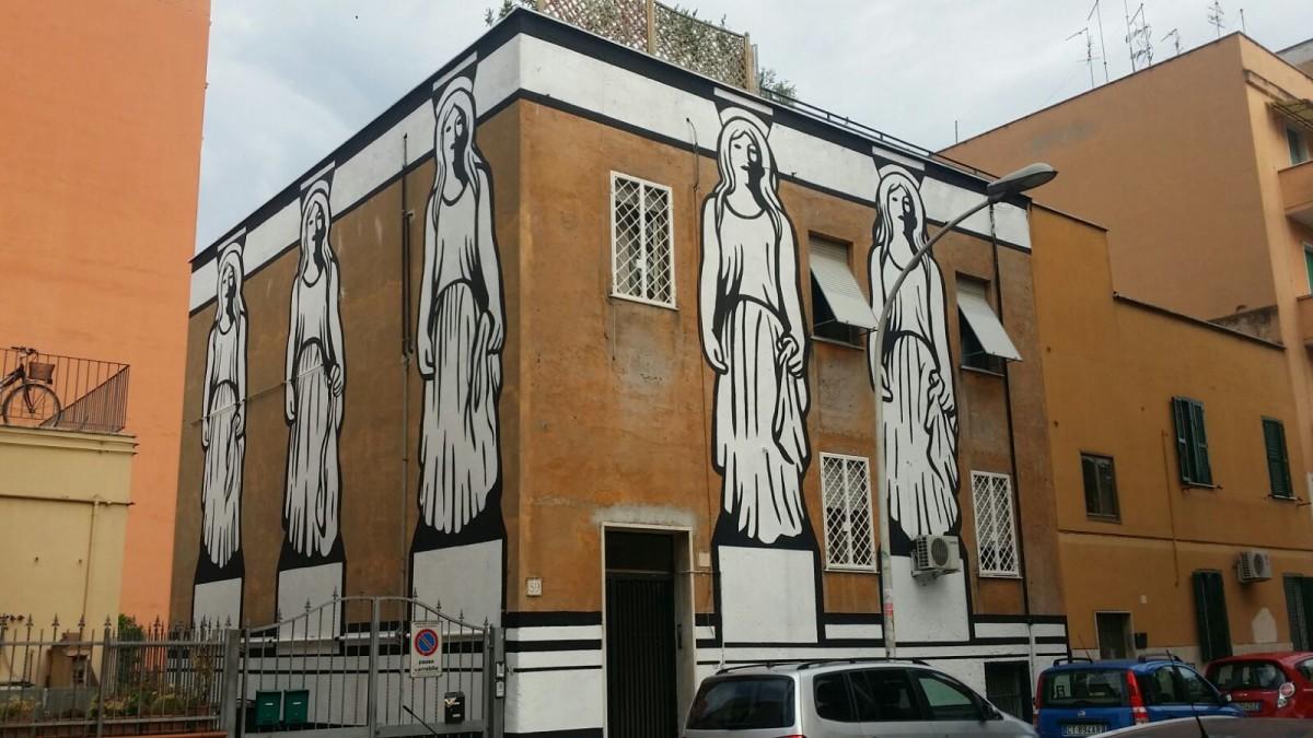 STREET ART TOUR tra le vie di TORPIGNATTARA tra arte pubblica e incursioni spontanee