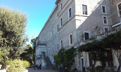 esterno di villa d'este