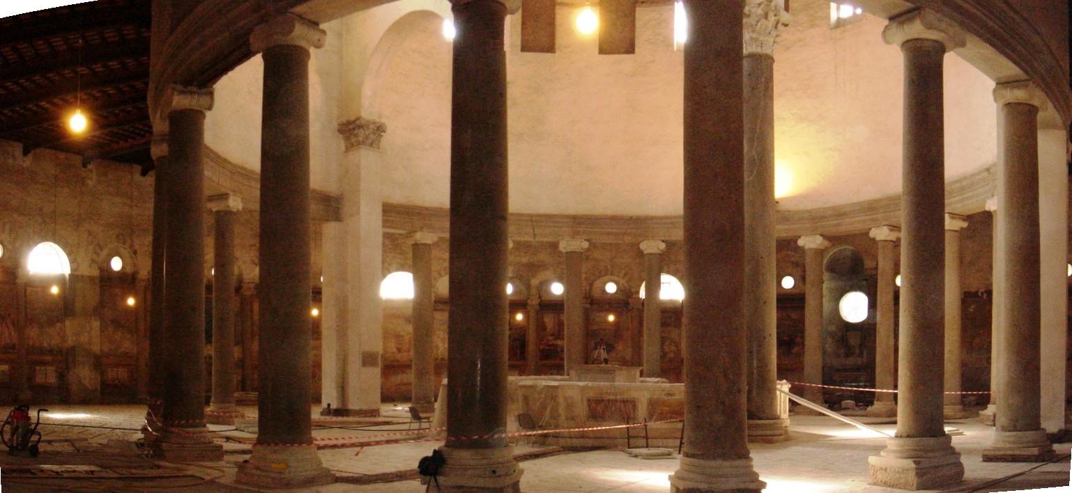 Tesori del Celio: la basilica di S. Stefano Rotondo