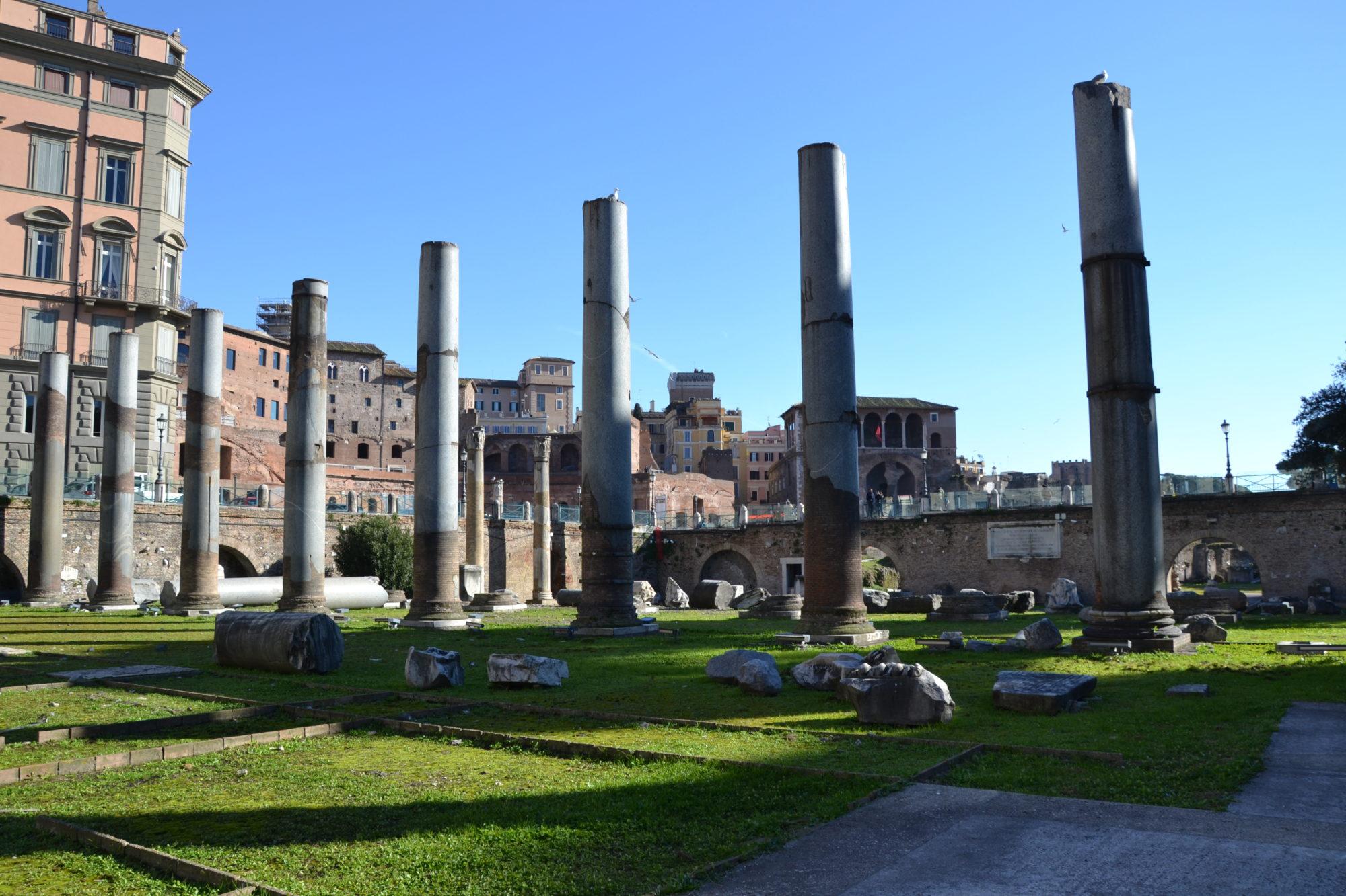 I Fori Imperiali da sotto in su. Una prospettiva inedita sui fori monumentali dell'antica Roma