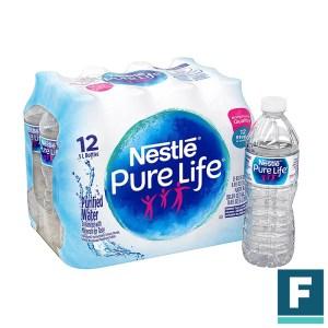 FP-WAT-12 Festiport 12 pack water - whole case