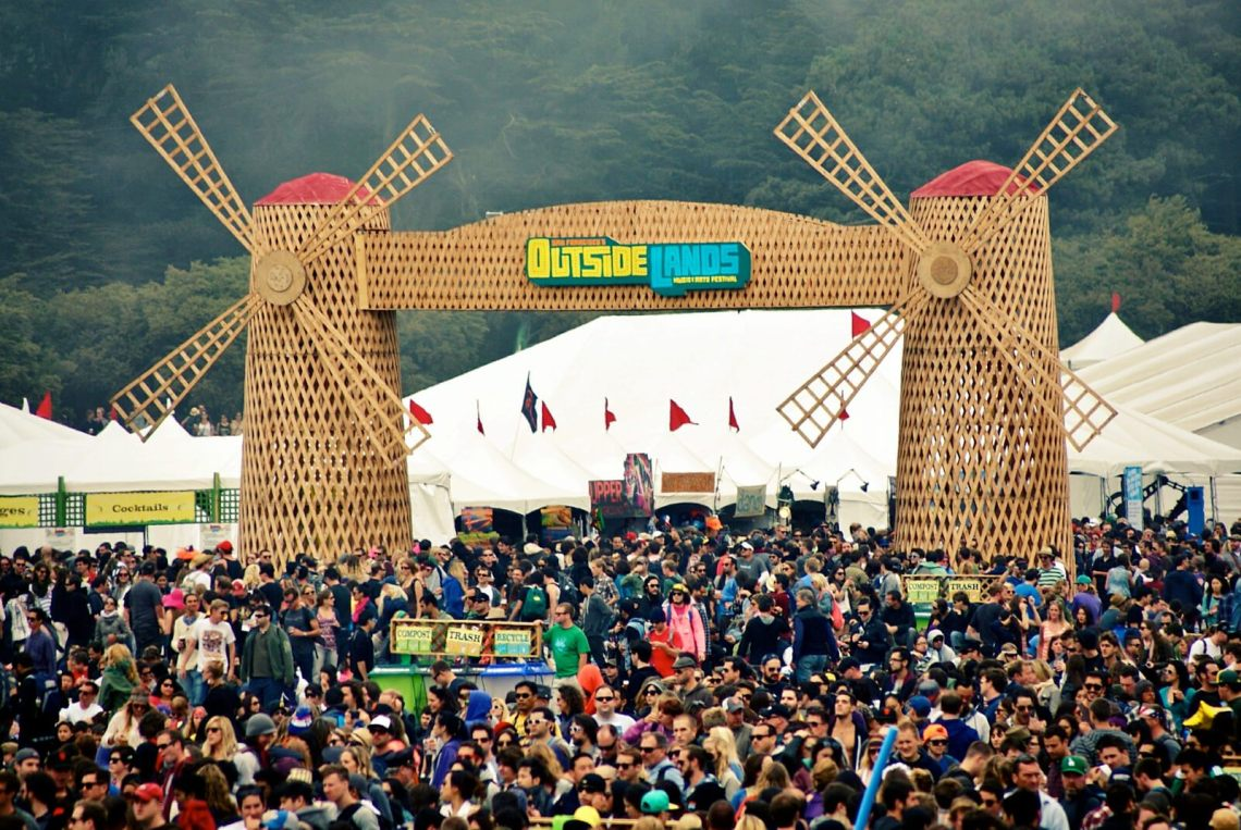 hot august music festival Outside Lands