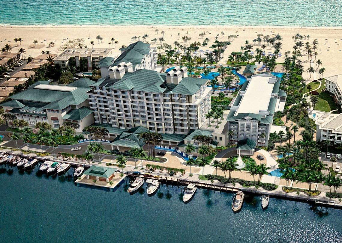 Tortuga Music Festival hotels. Lago Mar Resort and Club