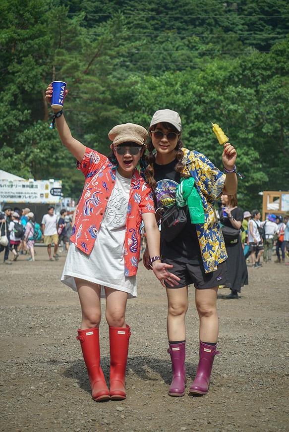 野外フェスで何履けばいい?フェス靴スナップ@ FUJI ROCK FESTIVAL ...