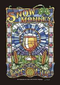 SNOW MONKEY BEER LIVE 2019