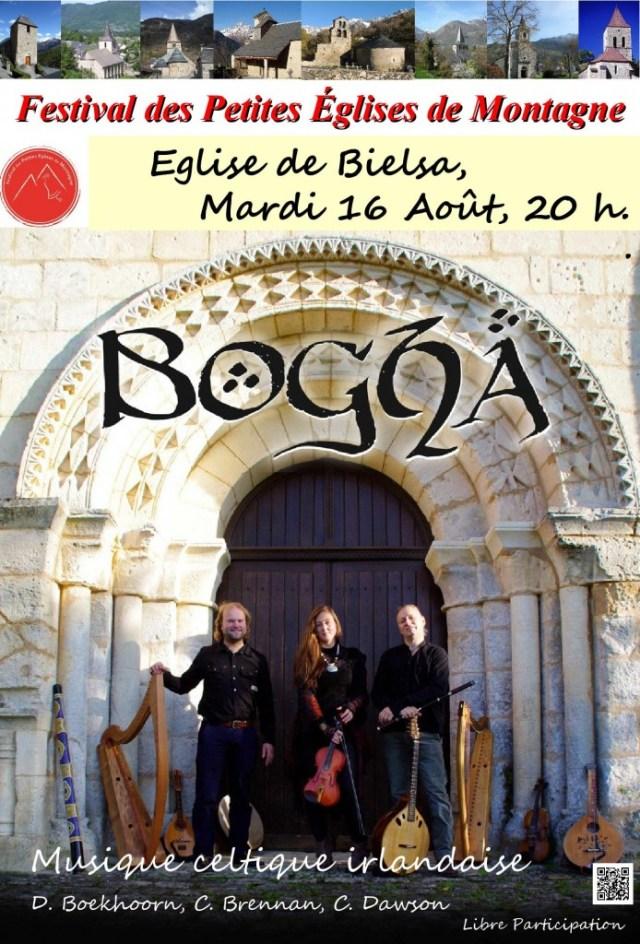 musique celtique à Bielsa le 16 août