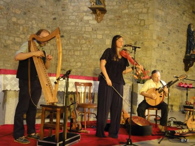 Le Trio Bogha en l'église de Bielsa - Sobrarbe - Aragon