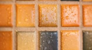 piastrelle bagno a mosaico