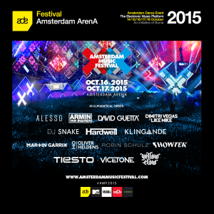 full lineup AMF poster