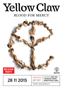 yellow claw blood for mercy