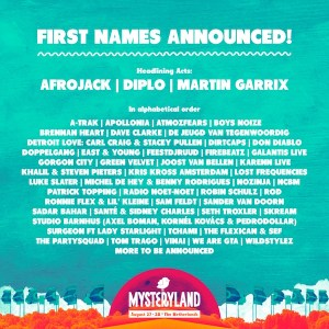 First Acts Mysteryland 2016