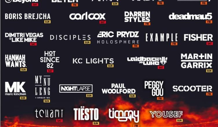 Creamfields 2021 line-up phase 1