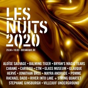 Nuits Botanique 2020