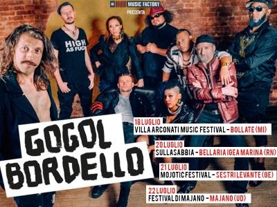 Il tour estivo in Italia dei Gogol Bordello