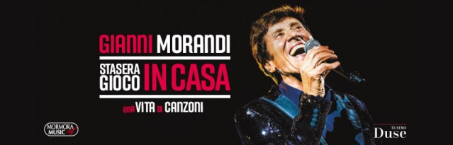 """Gianni Morandi per il Duse: """"Eccomi qui, Stasera gioco in casa"""""""