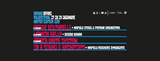Ariano Folk Festival Winter Edition, musica d'inverno in Campania