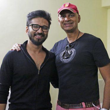 Amit Trivedi with Rajeev Samant