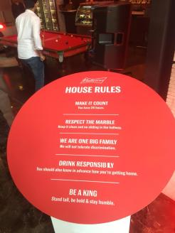 Follow the House Rules!