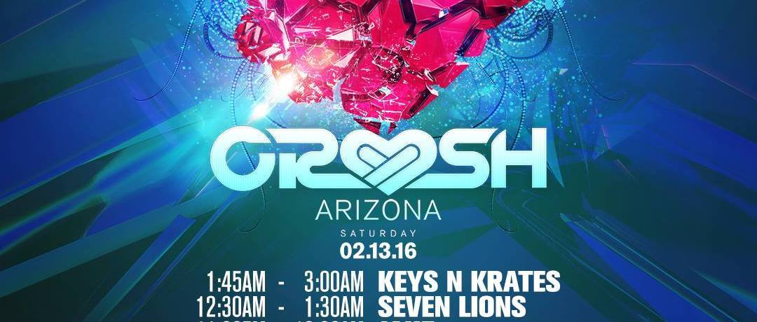 We're Crushin' on You Tonight! Crush AZ Playlist & Set Times HERE!