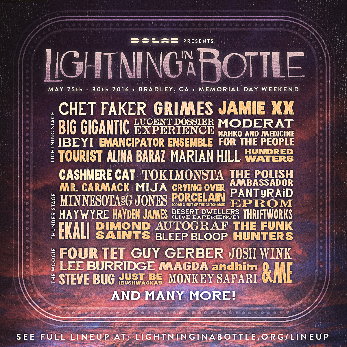 Lighting In A Bottle – The Most Anticipated Festival of 2016