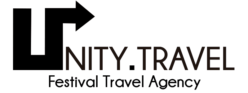Unity Festival Travel Agency Logo