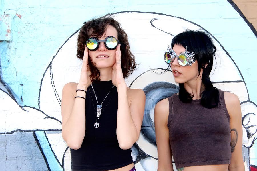Festival Fashion Spotlight: Aurora Vizion Diffraction Glasses