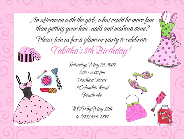 Tea Time Bridal Shower Invitations