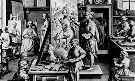 Egy gyönyörű írás a festészetről, festőmesterségről…