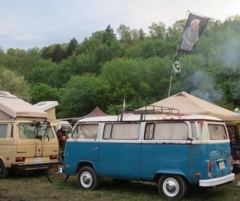 VW's at Sleepy Creek Spring Dig