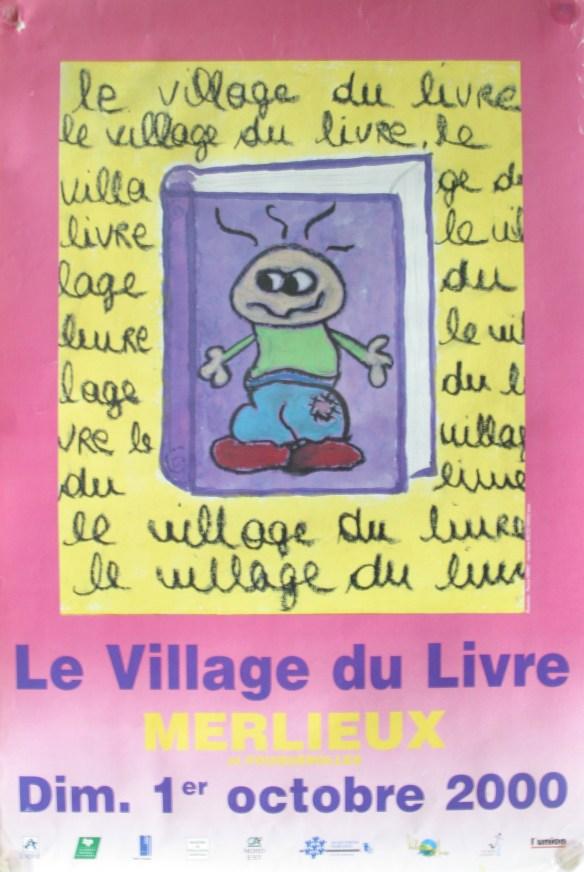 Affiche Fête du Livre 2000