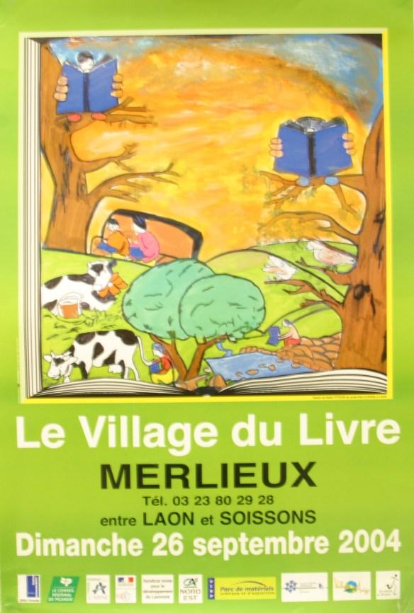 Affiche Fête du Livre 2004