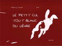 photo Thierry Cazals, Le petit cul tout blanc du lièvre