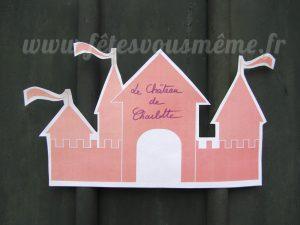 Décoration Princesse & Chevalier - pancarte porte - Fêtes vous même