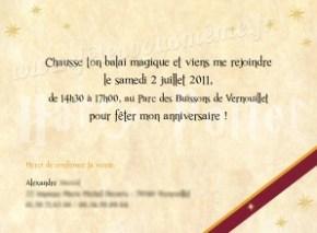 Invitation_HarryPotter 2