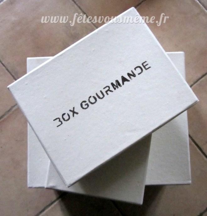 Box Gourmande - Fêtes vous même